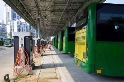 好消息!随州新增92个公交车充电桩,绿色公交更环保!