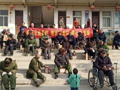 新时代文明实践在随县——殷店志愿者情暖福利院