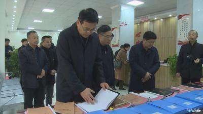 陈瑞峰到广水市调研指导基层纪检监察工作规范化建设