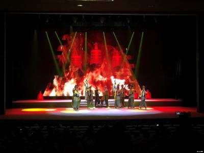 大型花鼓戏随国金声13日晚在随州神农剧院上演