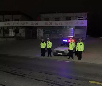 随县公安局交警大队全力以赴开展冬季道路交通安全整治行动