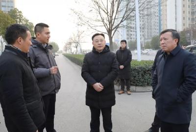 张健督办城乡环境综合整治工作