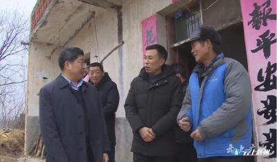 田涛深入镇办督导检查厕所革命和农村危房改造工作