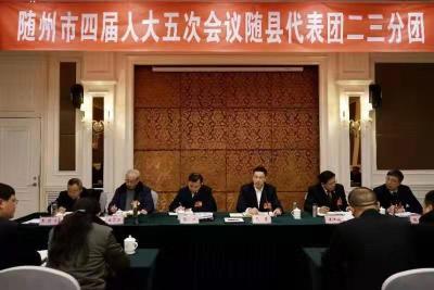 克克参加人大随县代表团审议提出 发挥优势做强做优特色产业 聚力攻坚决战决胜全面小康