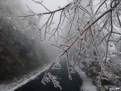 2020年随州的第一场雪来啦!