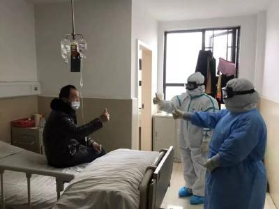 85岁老爷子点赞江西援曾医疗队
