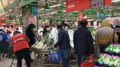超市延长营业时间 四家电商上线配送  加大城区保供力度