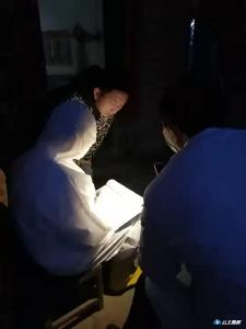 均川镇医务工作者用行动阻击疫情