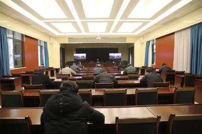 曾都区组织收听收看全市疫情防控相关工作视频会议