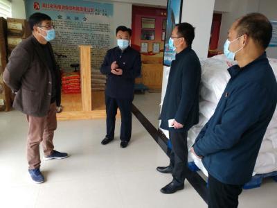 随县县领导到唐县镇检查指导疫情防控、复工复产工作