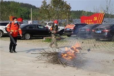 刘伟督办森林防火工作