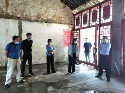 随县领导到小林镇祝林店村调研红色文化资源项目