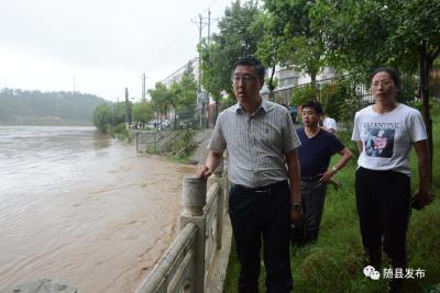 暴雨成灾,陈兴旺疾驰灾区指挥抗洪抢险