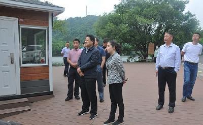 鄂北专员办调研大洪山生态环境保护工作