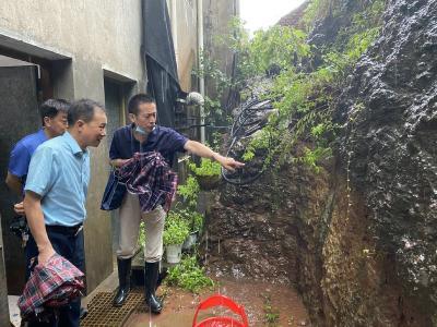 市自然资源和规划局全力做好地质灾害防范工作