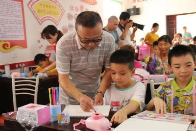 新时代文明实践在行动   何店镇桂华村开展关爱留守儿童活动