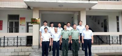 广水电信分局党支部与驻广某党支部联合开展9月主题党日活动