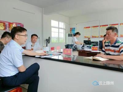 随州电信公司党委书记、总经理韩存起深入对口帮扶村调研乡村振兴工作