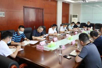 姜皓参加区委办机关第一党支部党史学习教育专题组织生活会