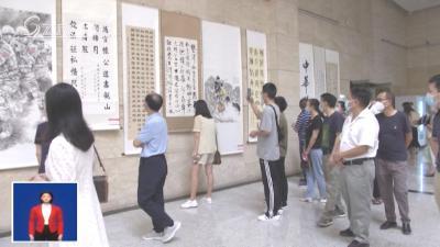 V视 | 我市组织党员干部参观优秀廉洁文化作品展