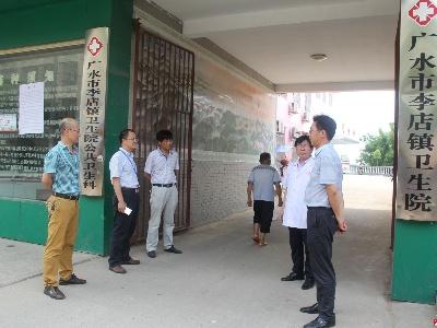 市二医院到李店镇卫生院开展业务指导 技术帮扶工作
