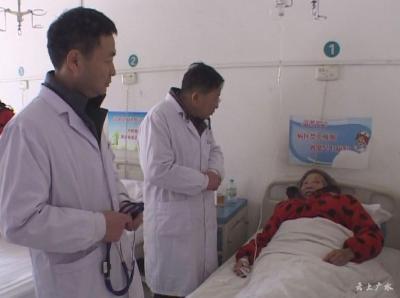 市二醫院到太平鎮開展義診活動