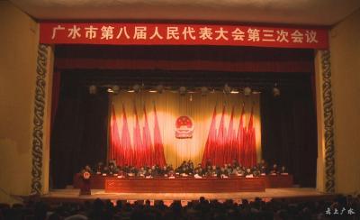 广水市第八届人民代表大会第三次会议闭幕