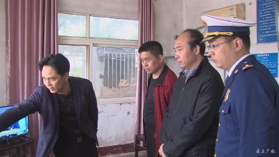 何慶海帶隊檢查安全生產工作