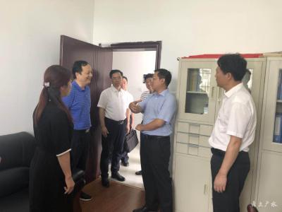 张忠凯到广水市调研基层纪检监察干部队伍建设情况