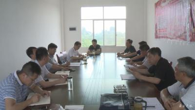 黄继军到蔡河镇开展遍访贫困村 贫困户活动
