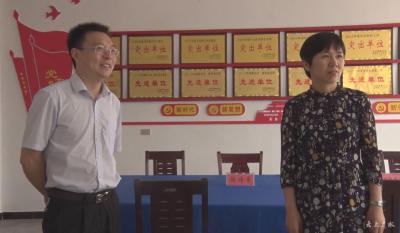 刘秀玲专题调研软弱涣散基层党组织整顿工作
