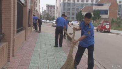 市创建办通报周五市直部门卫生责任区清扫情况