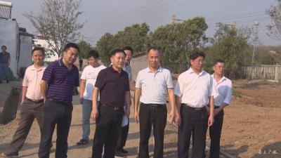 省考核组到广水市考核验收汉丹铁路沿线环境整治工作