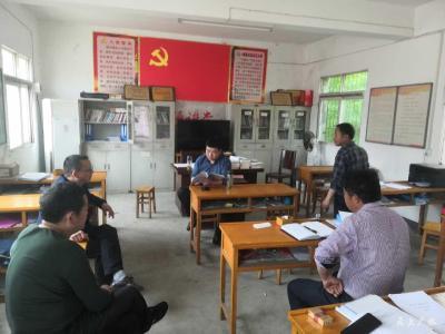 廿载扎根基层 一颗红心向党 ——记广水市杨寨镇党委副书记王虎