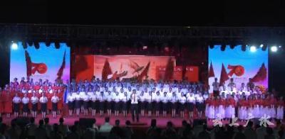超燃!广水五千干群同唱这首歌......(附视频)