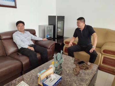 黄继军联系服务优秀企业家 共商发展大计