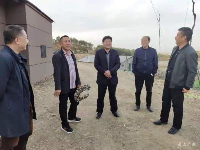 黃繼軍到陳巷鎮調研指導主題教育及脫貧攻堅工作
