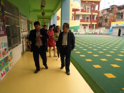 隨州市教育局督導檢查吳店鎮中心幼兒園