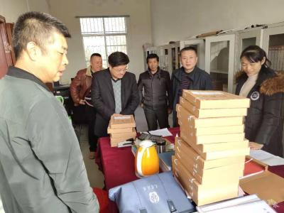 黄继军到陈巷镇调研指导主题教育及脱贫攻坚工作