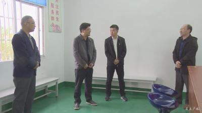 黄继军到余店镇调研软弱涣散基层党组织整顿工作