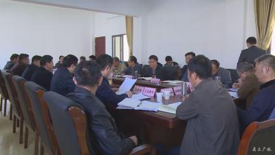广水市委财经委员会召开第二次会议