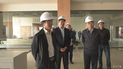 """刘月明到我市调研""""四个三重大生态工程""""建设情况"""