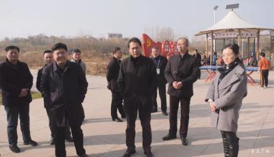 黄继军调研广水市基层纪检监察工作规范化建设