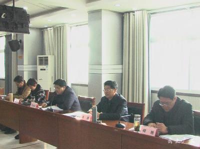 广水市委农村工作领导小组联席会召开