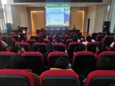 駱店鎮中心中學舉行安全知識講座