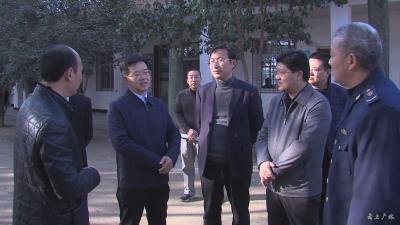 邹贤启到广水市调研市场监管机构改革、特种设备安全及综治工作
