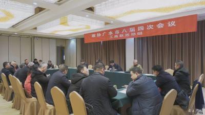黄继军参加政协广水市八届四次会议工商联活动组讨论