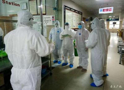 廣水市防控指揮部對一醫院二部開展院感督導檢查