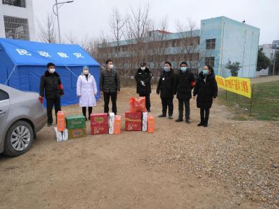 吳店鎮中心中學:積極宣傳  人人防范