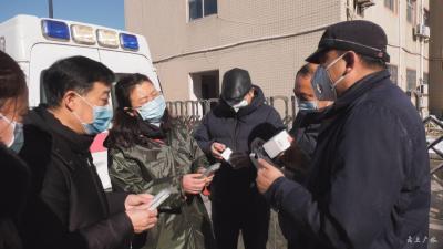 中國國際商會中小企業委員會為我市中醫院捐贈抗疫物資